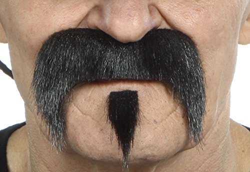 The Zappa black moustache - 1