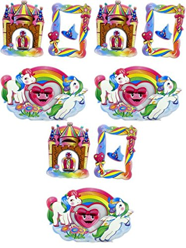 Set of 3 Kids Room My Little Ponies Wall Mural Stickers