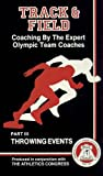 img - for Coaching By The Expert Olympic Team Coaches: Throwing Events (Track and Field) book / textbook / text book