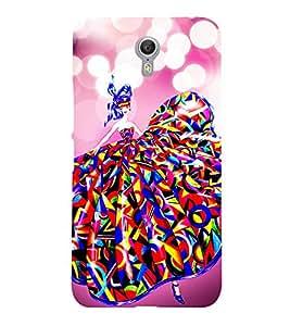 Lovely Girl 3D Hard Polycarbonate Designer Back Case Cover for Lenovo Zuk Z2 Pro