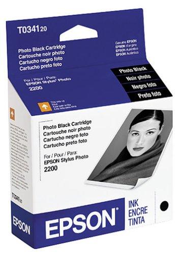 Epson Inkjet Cartridge (Photo Black) (T034120)