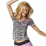 Acquista Zumba Fitness, Maglietta Donna Many Moons A-Glow Maglietta con scollo a V, Nero (Black), L