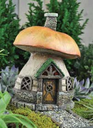 New fairy mushroom house garden village outdoor indoor Make your own toad house