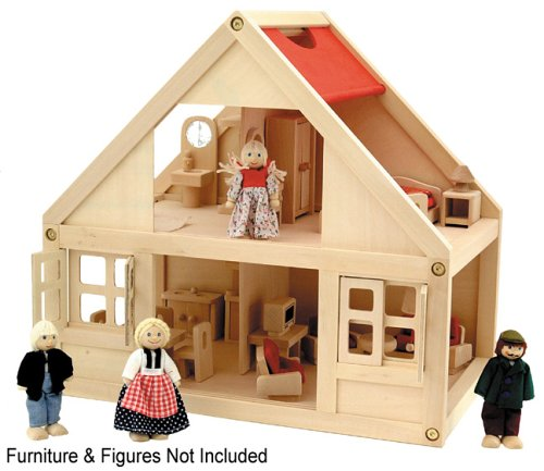 Toy Box - Doll House - Wooden