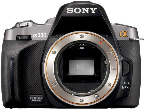 Sony a (alpha) DSLR-A330 - Digital camera - SLR