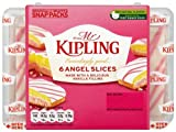 Mr Kipling Exceedingly Good 6 Angel Slices Snap Packs 202 g (Pack of 12)