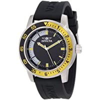 Invicta Men's Specialty Stainless Steel Watch with Black Band