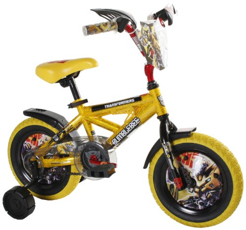 Dynacraft Transformers Bumblee Bike (12-Inch Wheels)