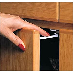 Child safety latches 12 pack for Child lock kitchen cabinets