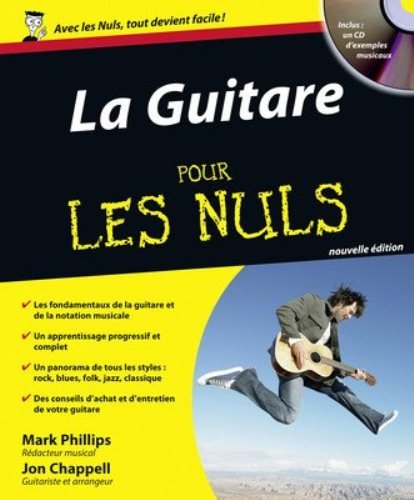 Exercices de guitare pour les Nuls + 1 CD