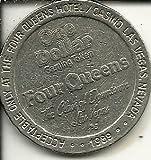 $1 four queens casino token coin las vegas nevada obsolete