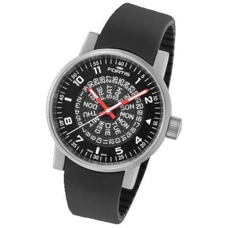 Fortis montre homme Spacematic Classic Black-Red automatique 623.10.51 Si01