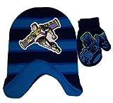 Disney Boys Toy Story Jacquard Knit Scandinavian Hat and Mitten Set - Toddler [4011]