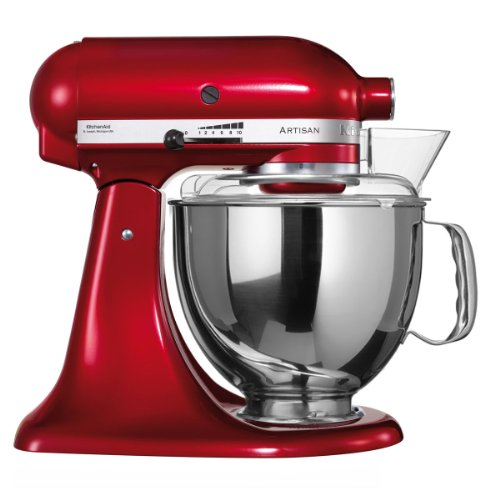 KitchenAid Artisan Food Processor 5KSM156PS solo red candy apple by Kitchenaid