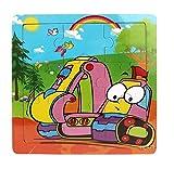 Ularma Lindo Juguetes de madera de los cabritos Jigsaw para la educaci�n de los ni�os y Puzzles juguetes de aprendizaje (multicolor16)