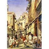 A Street in Lahore, by William Carpenter (Print On Demand)