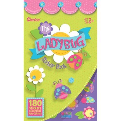 WeGlow International Lady Bug Sticker Books, Set of 4