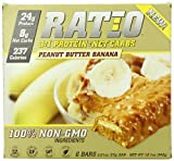 Ratio Protein Bars, Peanut Butter Banana, 2.01 Ounce (Pack of 6)
