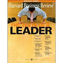 Harvard Business Review: The Tests of a Leader Periodical by Harvard Business Review Narrated by Todd Mundt