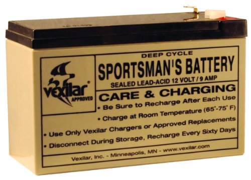 Vexilar V-100 9-Amp Battery Only