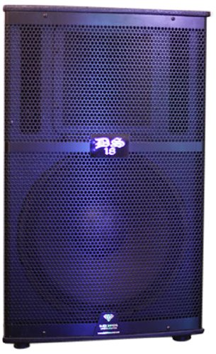 Ds18 Ds-Pa15Wbt 15-Inch 2,000 Watts 2-Way Powered/Active Speaker Box With Bt/Fm/Usb/Sd/Eq And Guitar Inputs