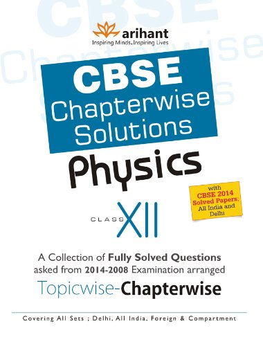 CBSE Chapterwise Questions-Solutions Physics, Class 12 Image