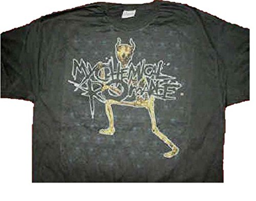 My-Chemical-Romance-Minion-negro-T-Camisa-tamao-XL-46-cm-de-pecho