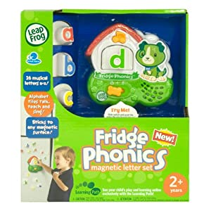 LeapFrog Fridge Phonics Magnetic Alphabet Set - Styles May Vary