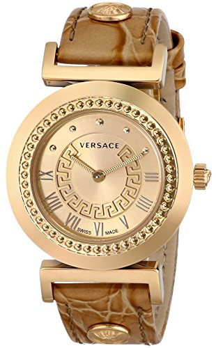 Versace-Womens-P5Q80D999-S999-Vanity-Analog-Display-Swiss-Quartz-Gold-Watch