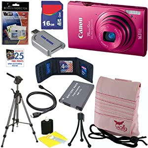 Canon PowerShot ELPH 320 HS 16.1 MP Wi-Fi Enabled CMOS Digital Camera with 5x Zoom Lens, HD Video and 3.2