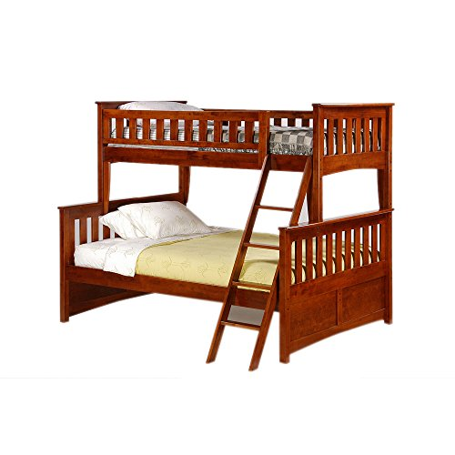 Full Over Futon Bunk Bed 1618 front