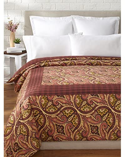 April Cornell Paris Paisley Duvet, Chocolate, King As You See