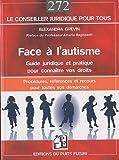 Image de Face à l'autisme : guide juridique et pratique pour connaître vos droits. Procédures, références, recours et adresses pour toutes vos démarches.