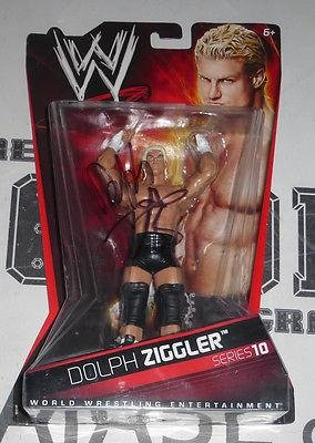 Dolph Ziggler Signed Action Figure COA WWE Superstar Series 10 Autograph - PSA/DNA Certified - Autographed Wrestling Miscellaneous Items