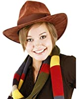 Doctor Who Fourth Doctor Hat 4th Fedora Tom Baker Dr. BBC TV Show