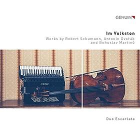 "7 Arabesques, H. 201, ""etudes rhythmiques"" (arr. for cello and accordion): No. 7. Allegretto moderato"