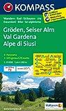 Gröden - Seiser Alm / Val Gardena - Alpe di Siusi 1 : 25 000