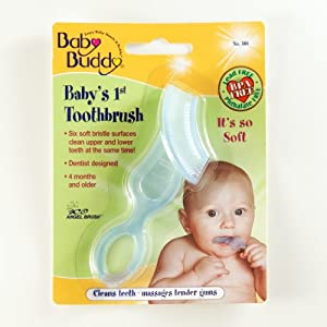Baby Buddy Baby's 1st Toothbrush, Blue