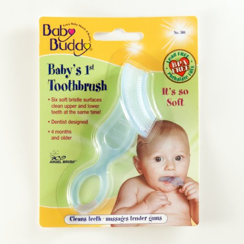 Baby Buddy - Baby's 1st Toothbrush Blue