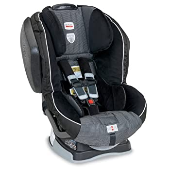 The Britax Advocate 70 G3 convertible car seat accommodates children rear facing from 5 to 40 pounds and forward facing from 20 to 70 pounds. The Advocate 70 G3 is purposefully designed and engineered to minimize the forward movement of your child's ...