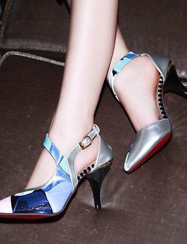 CBIN&HUA Scarpe Donna - Scarpe col tacco - Tempo libero / Ufficio e lavoro / Casual - Tacchi / A punta / Espadrillas - A stiletto - Finta pelle - , yellow , us5.5 / eu36 / uk3.5 / cn35