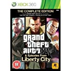 GTA Grand Theft Auto IV 4 & Episodes from Liberty City Complete Edition Xbox 360 Games PAL