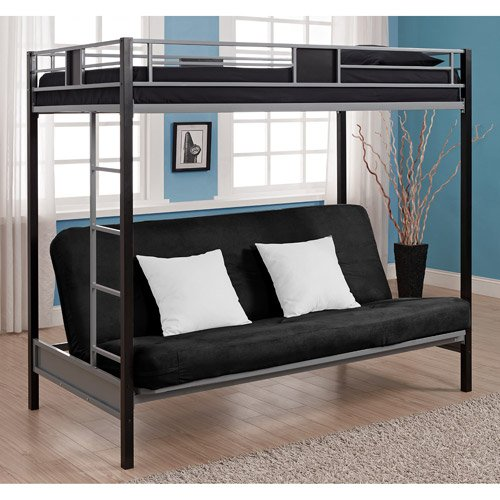 Full Over Futon Bunk Bed 6183 front