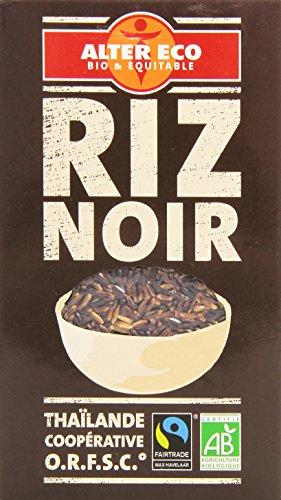 Alter Eco Riz Noir Bio et Equitable 500 g