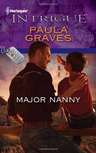Major Nanny (Harlequin Intrigue Series)