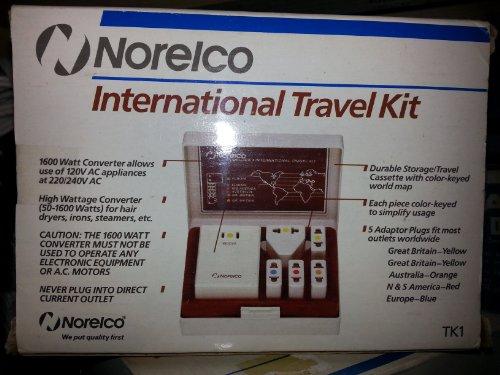 New Norelco International Travel Kit/ Model Tk 1 front-349539