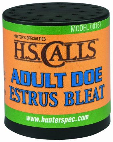 Hunter's Specialties Adult Doe Estrus Bleat Deer Calls