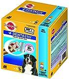 Pedigree DentaStix Hundesnack für große Hunde, 1 Packung je 56 Stück (1 x 2.16 kg)