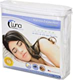 "Luna Premium Hypoallergenic Zippered Bed Bug Proof Mattress Encasement 11""  ...."
