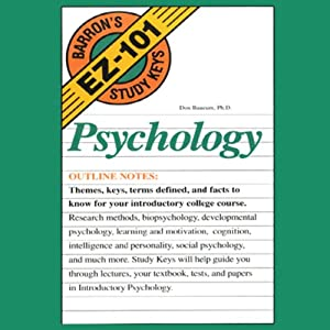 Barron's EZ-101 Study Keys: Psychology | [Don Baucum]